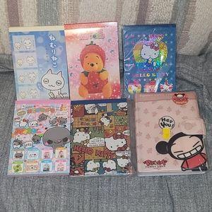 Medium Sized Japanese Character Notebooks